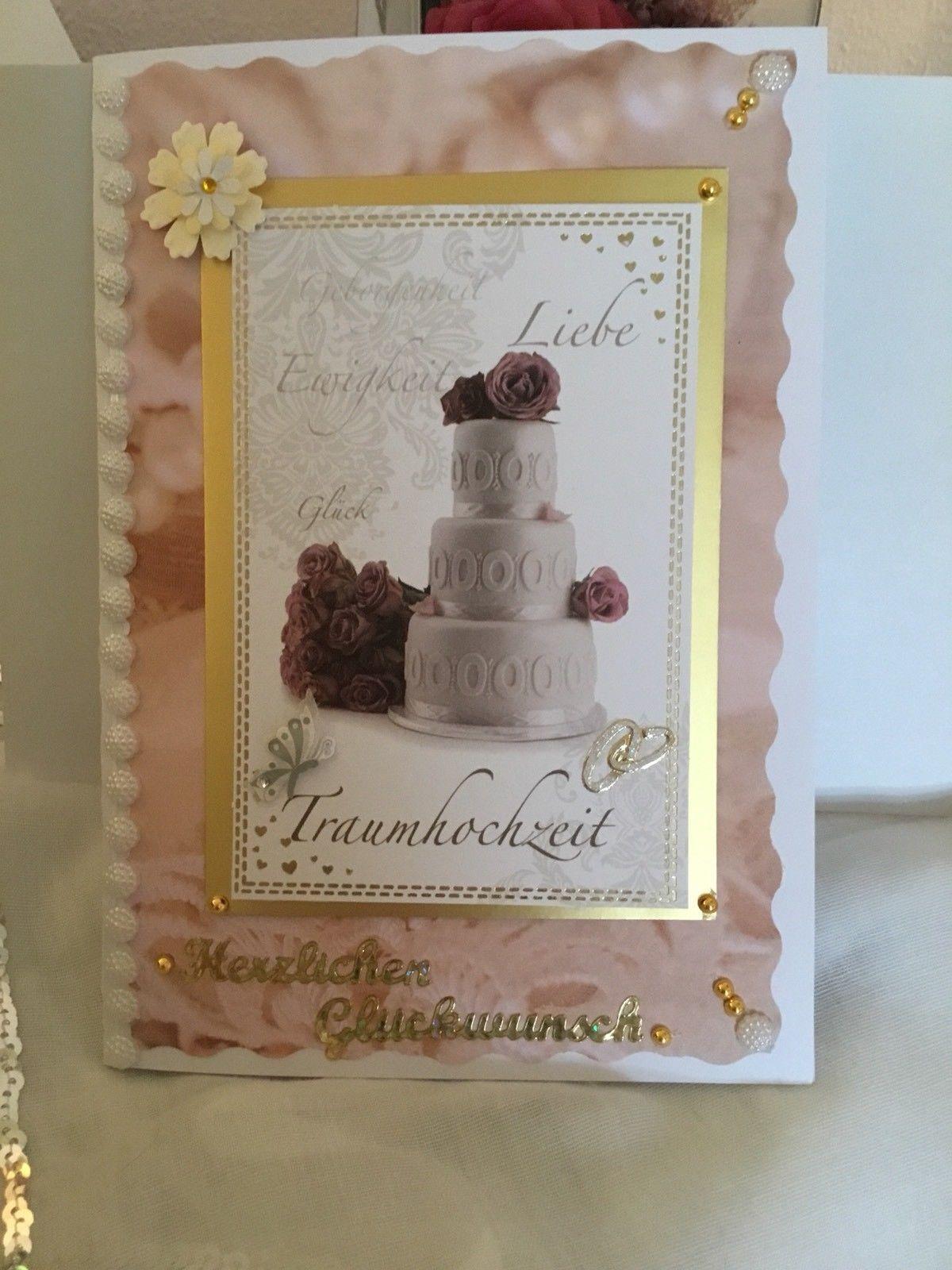 3d Grusskarte Gluckwunsch Karte Zur Hochzeit Edle Handarbeit Karte Hochzeit Geburtstagskarte Gluckwunschkarte