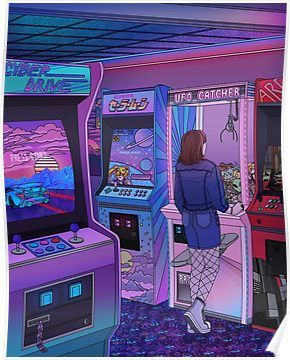 'Arcade' Poster by Kelsey Smith