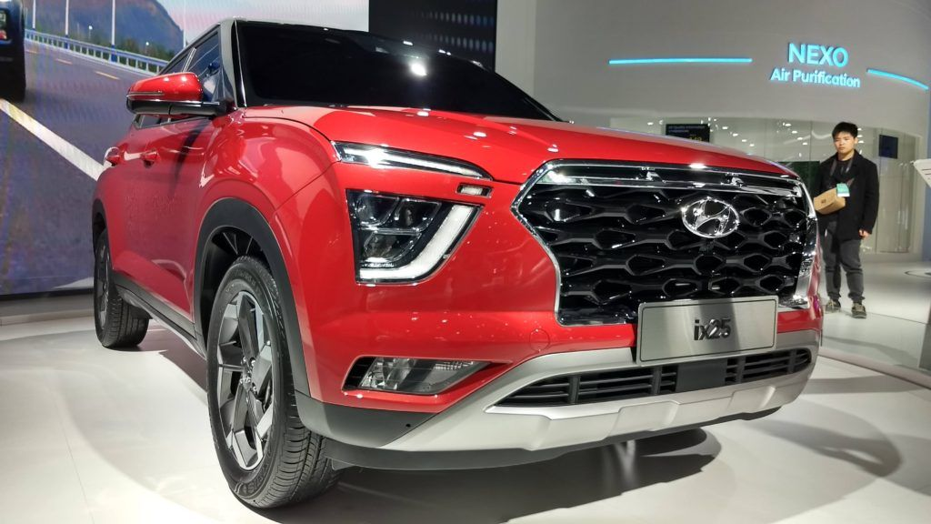 بالصور الإطلالة الأولى لـ هيونداي كريتا 2020 Ix 25 بلمسات الفخامة والقوة New Hyundai Hyundai Bmw Car