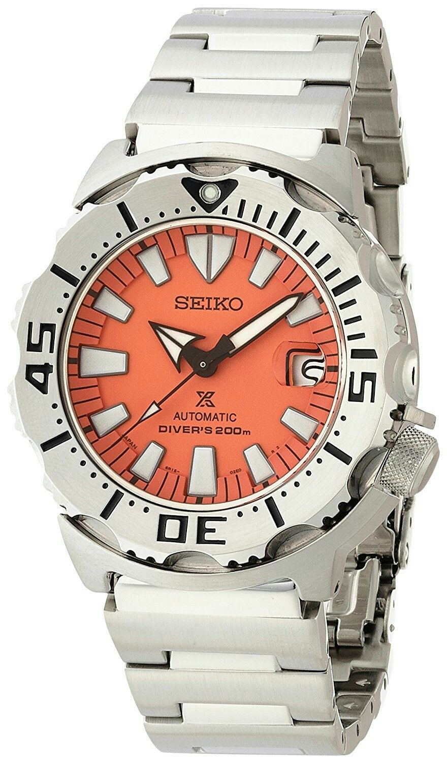 Seiko Prospex Sbdc023 3rd Generation Orange Monster Relogios
