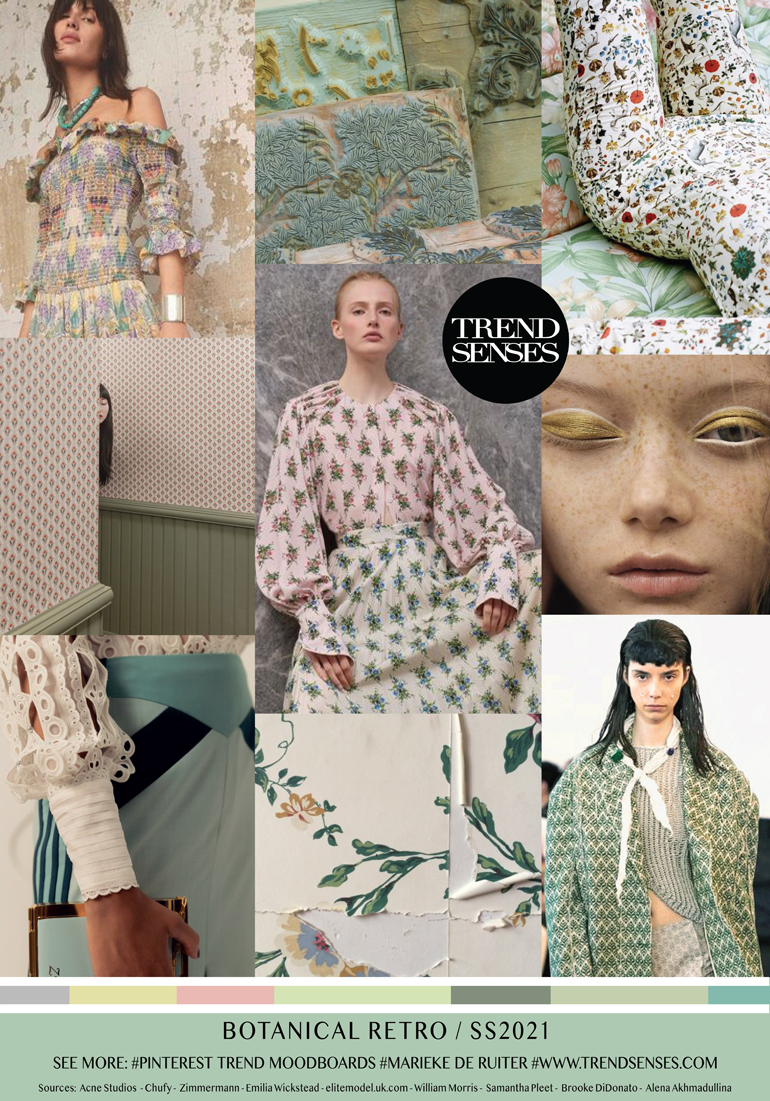 FASHION VIGNETTE: TREND | TREND SENSES - BOTANISCHES RETRO. SS 2021