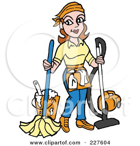 school janitor clip art royalty free rf clipart illustration of rh pinterest com janitorial clipart free janitorial clipart free
