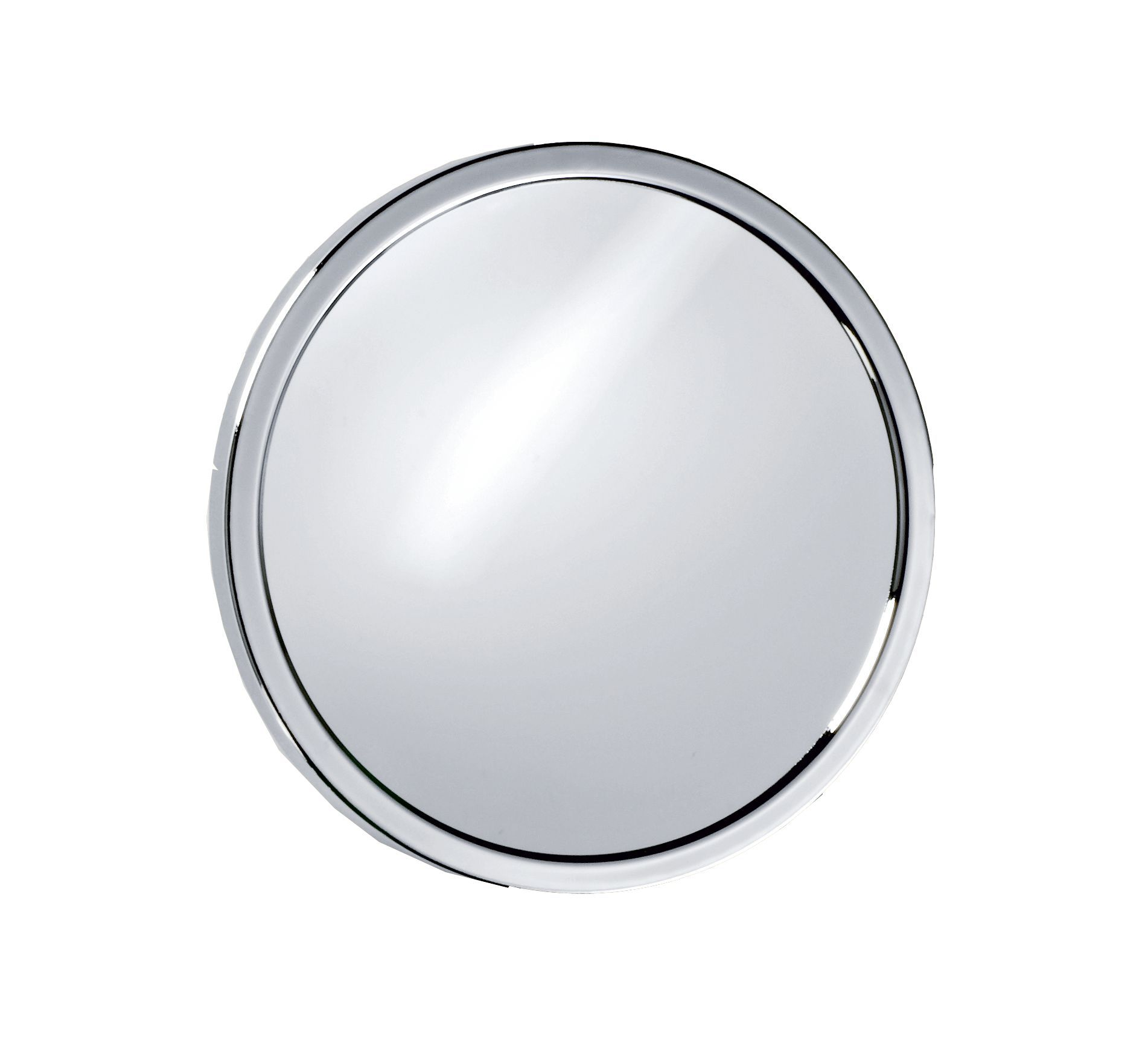 Dwba Round Suction Cup 5x Cosmetic Makeup Magnifying Mirror