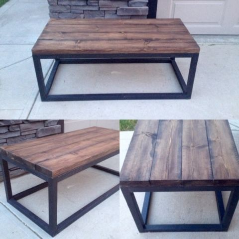 Rustic industrial style coffee tables & end tables | coffee tables | Edmonton | Kijiji