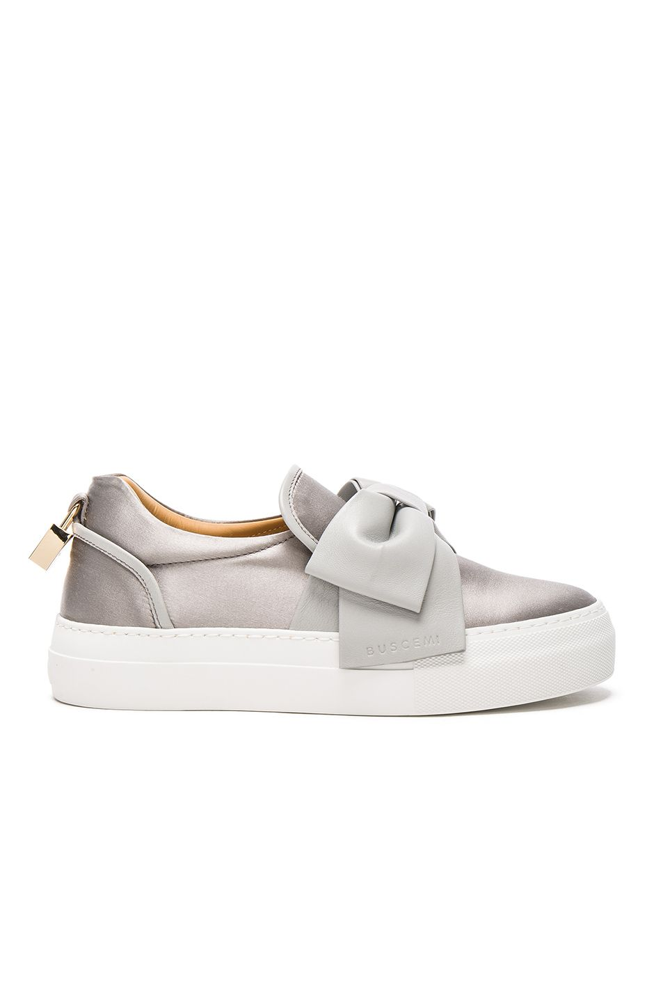 2c669237e7f BUSCEMI 40MM Bow Satin Sneakers.  buscemi  shoes