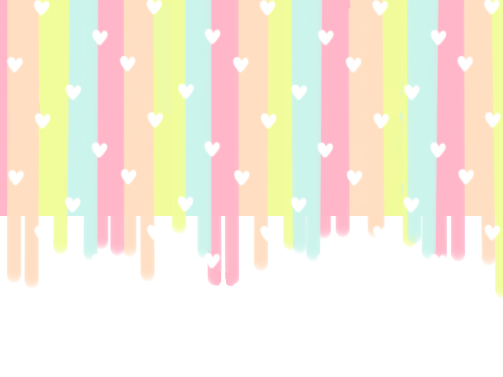 Hearts Colourful pastel background Backgrounds