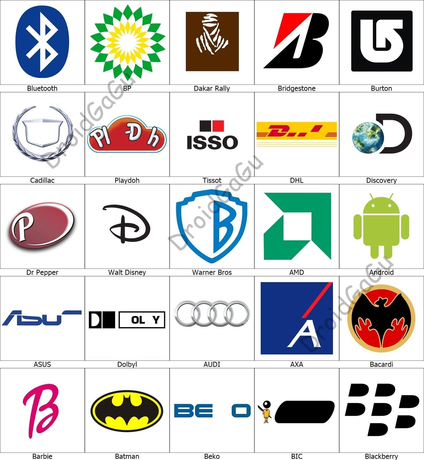 Level 3 Logo Quiz Answers Bubble DroidGaGu in 2020