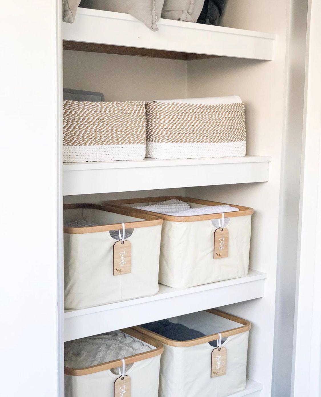 Linen cupboard   Home organization, Linen cupboard, Home organisation