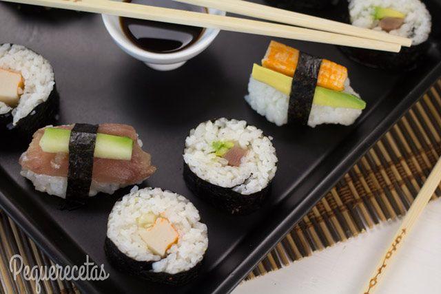Sushi Fácil En 5 Pasos Cómo Hacer Sushi Casero Recetas De