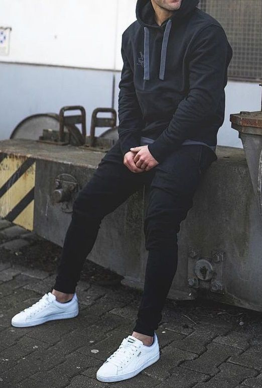 Dark Fit in 2020 | Men fashion casual outfits, Mens fashion