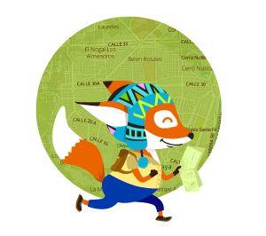 FOXTY a la caza de aventuras by Martín González, via Behance