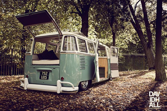 This is how you properly modernize a 1961 VW Bus.