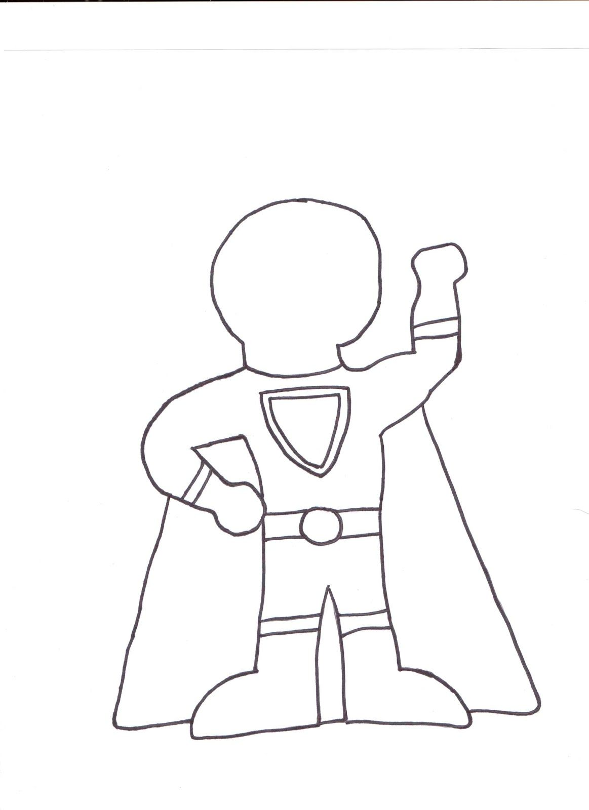 Tales Of An Elementary Teacher Super Hero Template Superhero