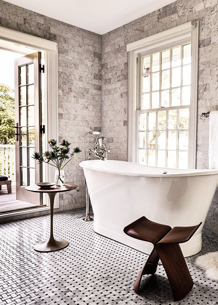 House Tour Master Bath: What An Incredible Master Bath. Free Standing Tubs Making