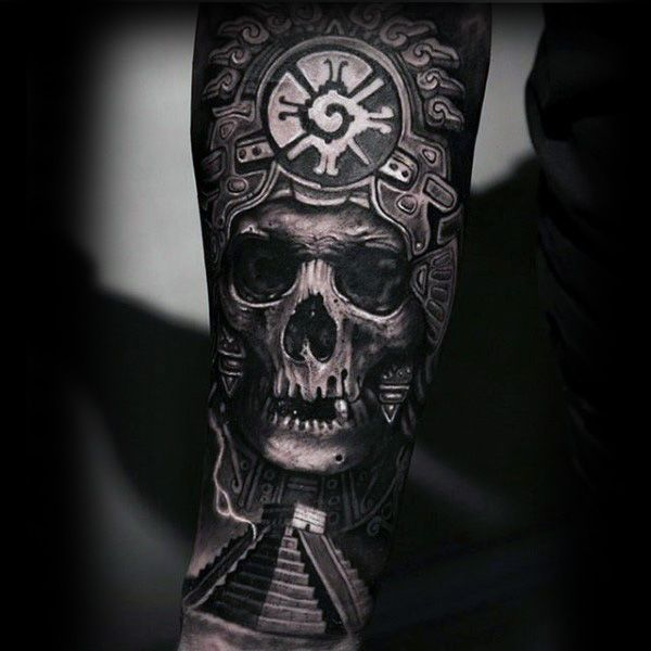 80 mayan tattoos for men masculine design ideas face painting body art pinterest mayan. Black Bedroom Furniture Sets. Home Design Ideas