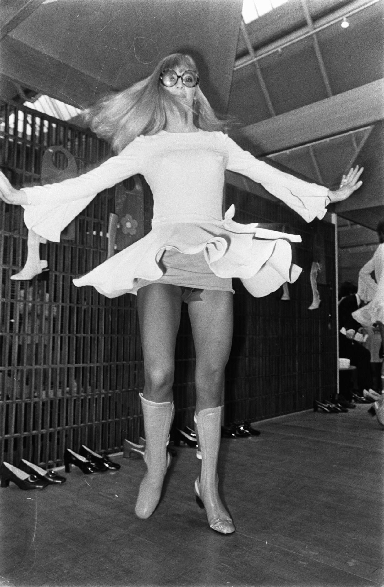 Mary Quant Fashion Show Mini Skirt