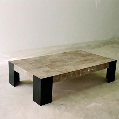 Alexander Lamont. Angle Bronze Coffee Table. (http://alexanderlamont.com