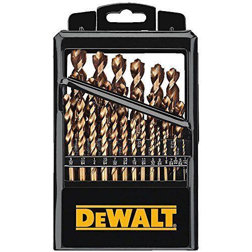 Dewalt Dw1369 29 Piece Titanium Pilot Point Drill Bit Set Ferramentas