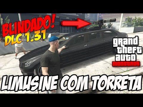 NOVA LIMUSINE COM TORRETA BLINDADA!! GTA V DLC EXECUTIVOS E OUTROS CRIMI...