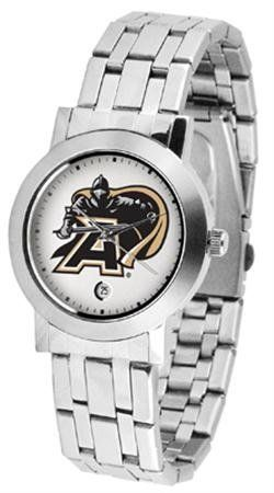 Army Dynasty Men's Watch by SunTime. $79.95. Elegant design for the modern man who wants to show their team spirit! The dial is presented in a sleek, stainless steel case and bracelet that rests fashionably yet comfortably across the wrist. Features a convenient date display, quartz accurate movement and a scratch resistant mineral crystal face.. Save 21%!