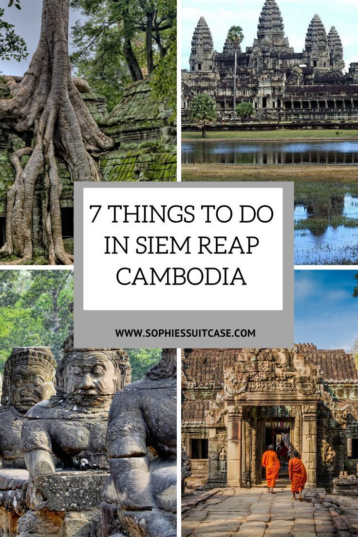 Many travellers may come to Siem Reap Cambodia solely to visit the temples of Angkor Wat, one of the most popular Siem Reap Attractions in Southeast Asia, and possibly one of the most magical. And whilst Angkor Wat is amazing, there are many other interesting things to do in Siem Reap #cambodia #siemreap #siemreapcambodia #cambodiatravel #southeastasia