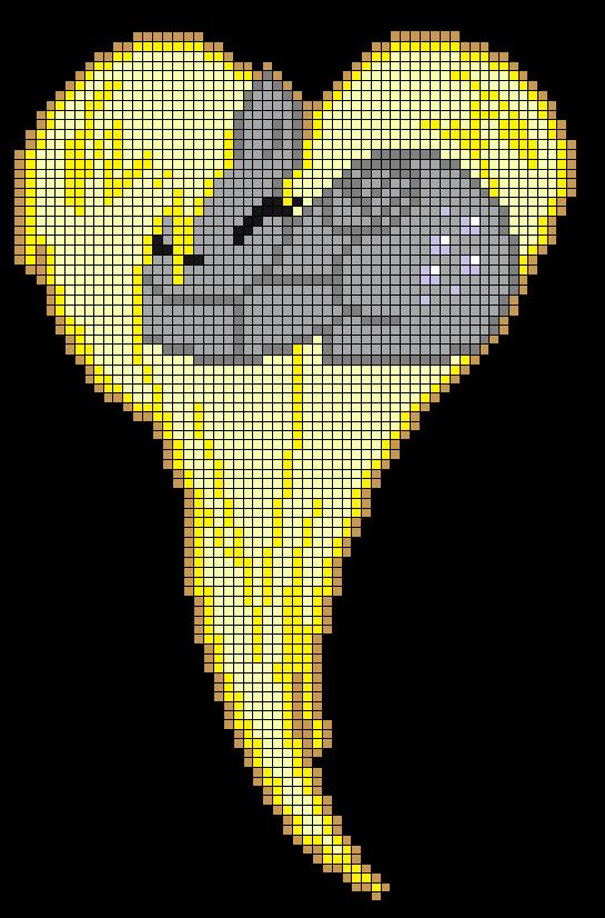 Minecraft pixel art ideas templates creations easy anime pokemon mlp derpy hooves heart perler bead pattern by indidolph on deviantart minecraft pixel art grid maker malvernweather Image collections