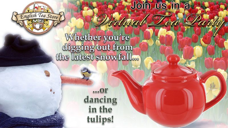Virtual Tea Party time is here again! It's the day before the day before the weekend (aka Thursday), so sit back for a moment, sip some tea, and tell us all about it!