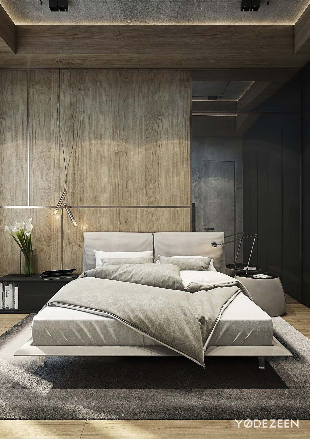Modern Bedroom Furniture Sets 9: Residence With A Contrast In Tbilisi On Behance