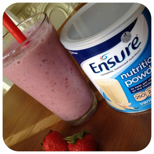 Very Easy Berry Ensure Smoothie Recipe High Calorie Smoothies