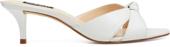 Linnia Open Toe Mules Open Toe Mules Open Toe Leather Heels