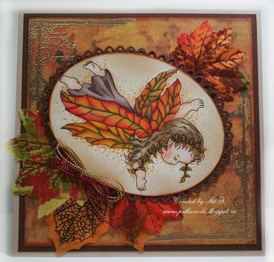 FALL FAIRY WISHES http://www.whimsystamps.com/index.php?main_page=product_info&cPath=13_38&products_id=1282 Card designed by Pat K http://patkscards.blogspot.ca/