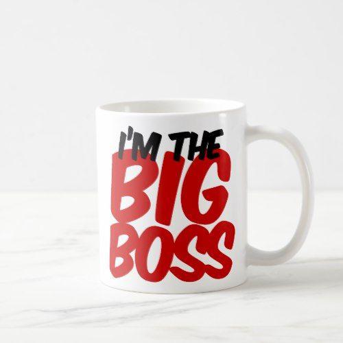 im the big boss coffee mug | Zazzle.com #bosscoffee