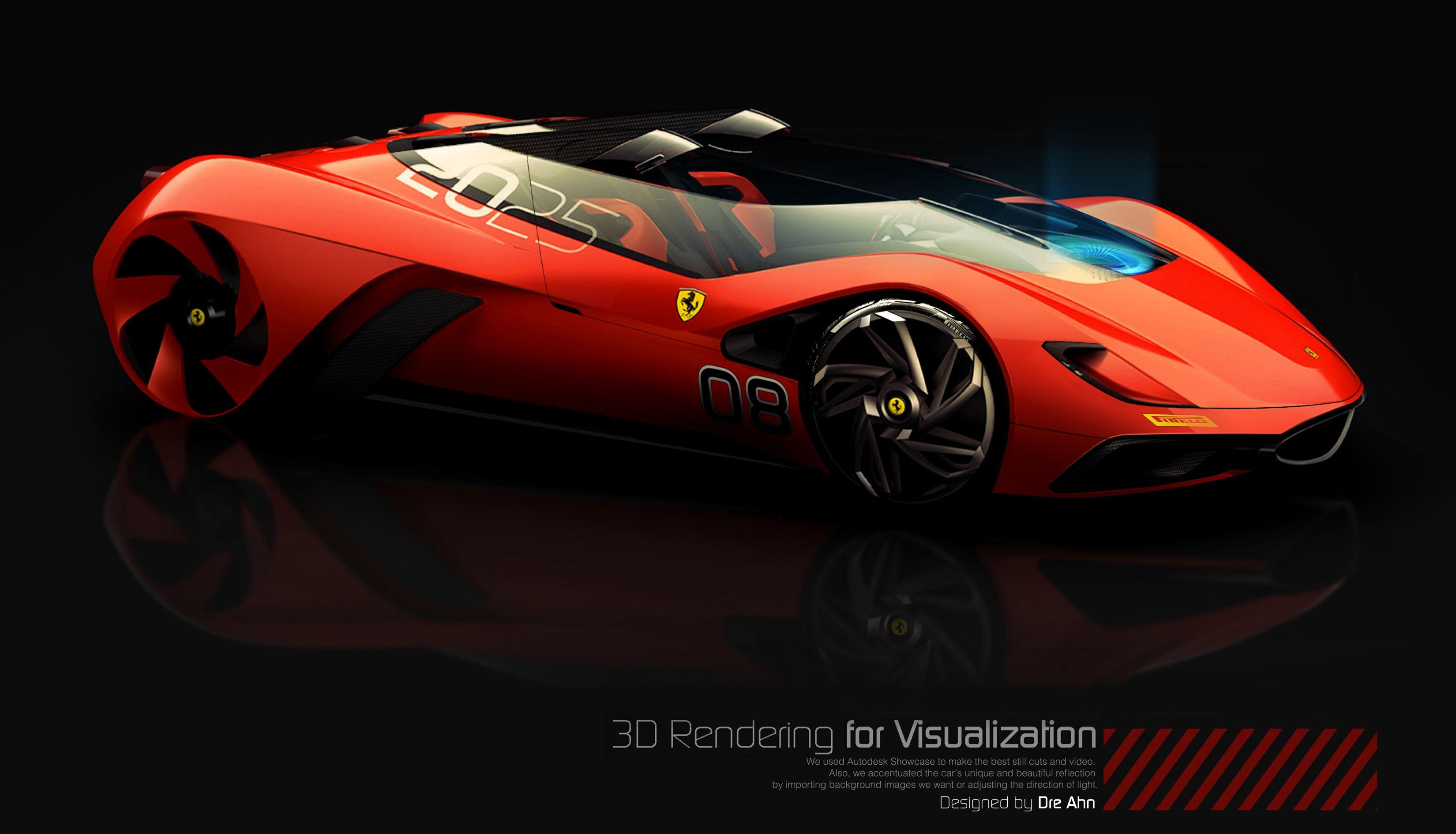Future Ferrari Eternita 2025 Ferrari World Ferrari Concept Car Design