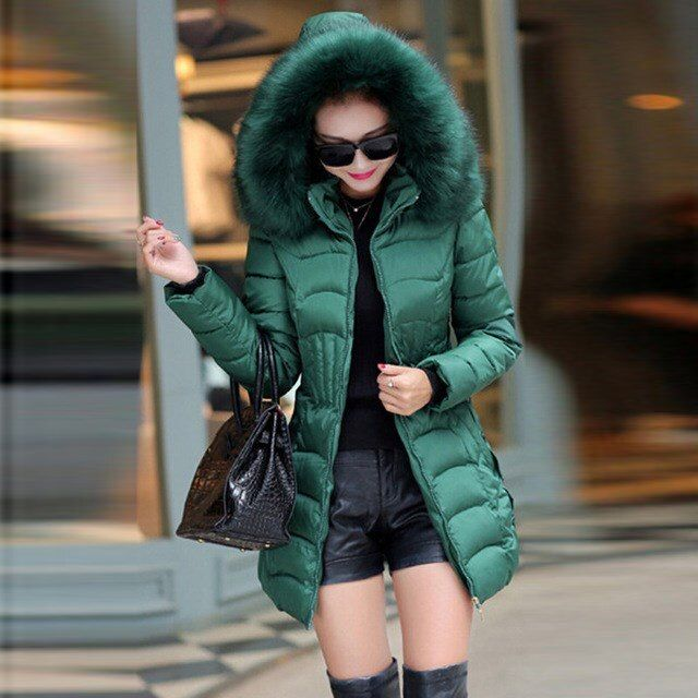 36.39US $ |Womens Parka Casual Outwear Autumn Winter Hooded Coat Jacket Women Fur Coats|Parkas|   - AliExpress