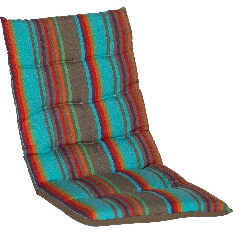 Coussin D Assise De Chaise Ou De Fauteuil Multicolore Samba