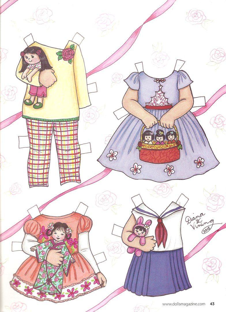 Фотографии Паперові ляльки Бумажные куклы  Paper Dolls – 97 альбомов ... e4e404f45948a