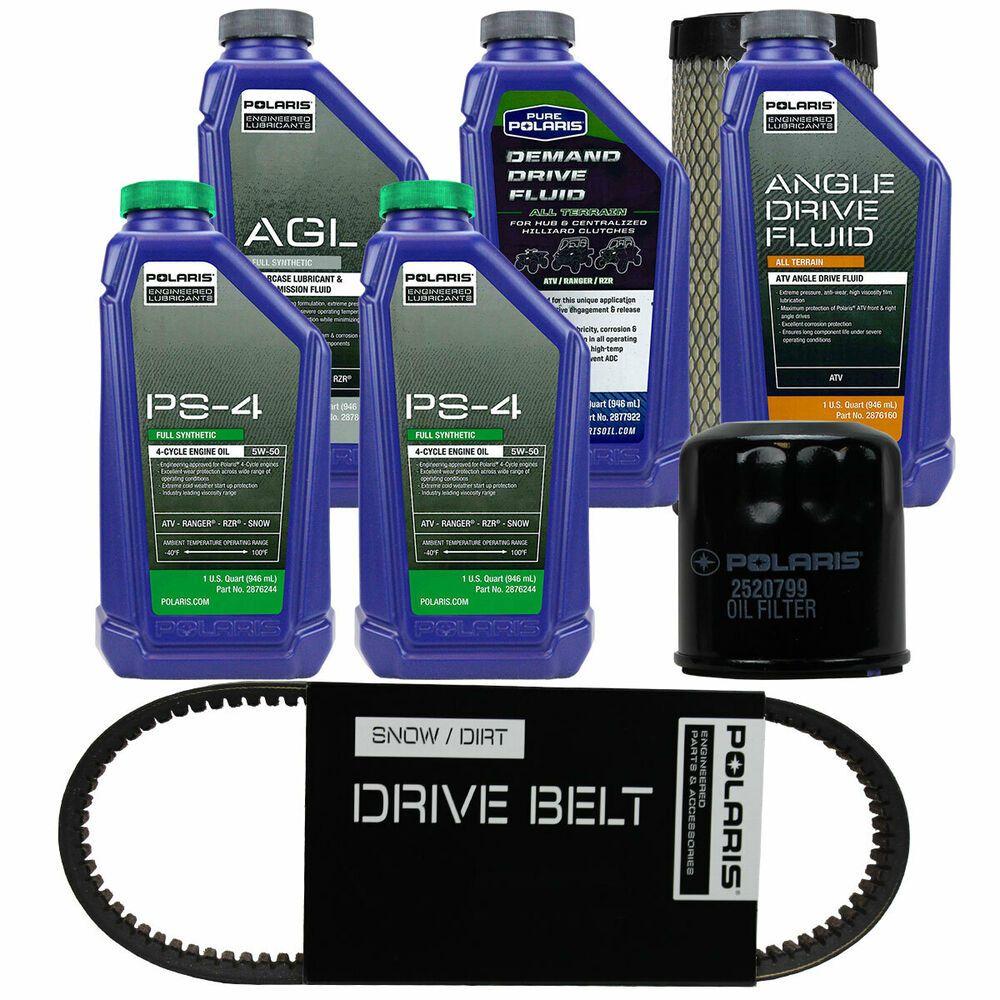 (eBay Advertisement) Polaris Oil Filter Engine Service Kit