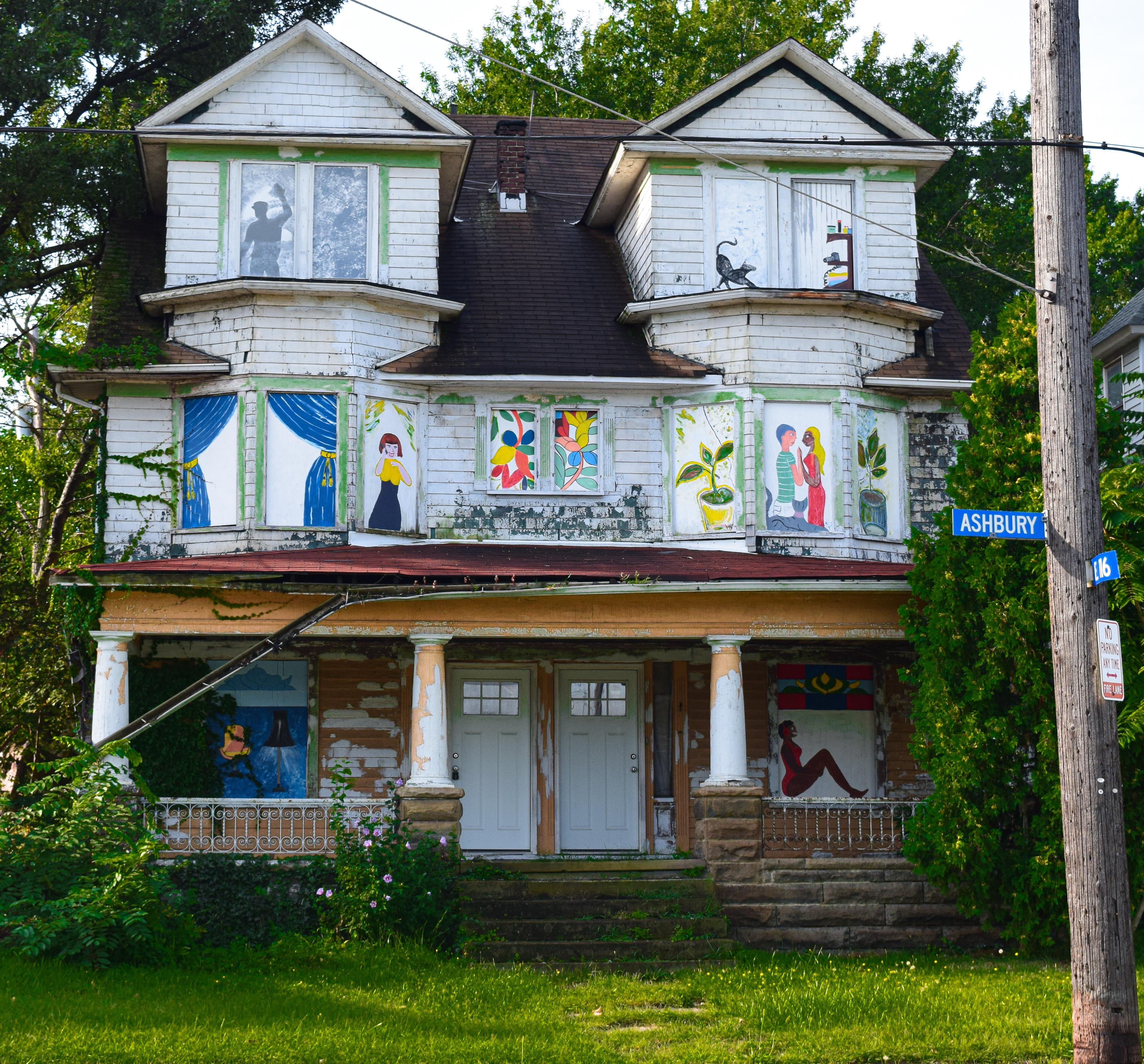 Abandoned House In Cleveland Ohio