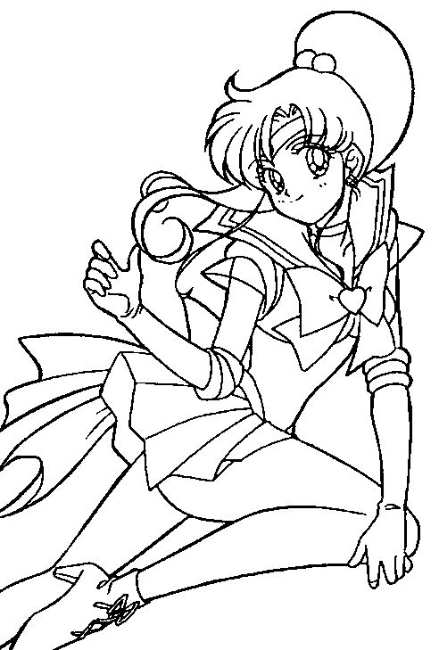 Sailor Jupiter Smile Happy