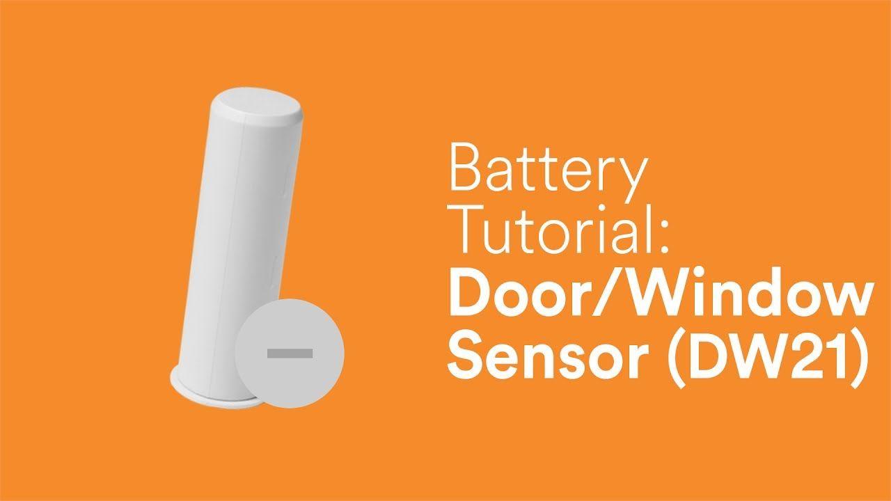 Battery Tutorial Recessed Door Sensor Dw21 Tutorial Sensor Vivint