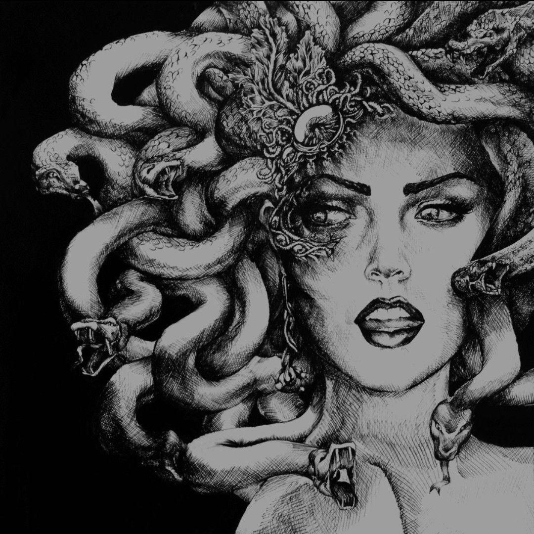 Medusa Dibujo Medusa Arte De Medusas Tatuajes De Medusas