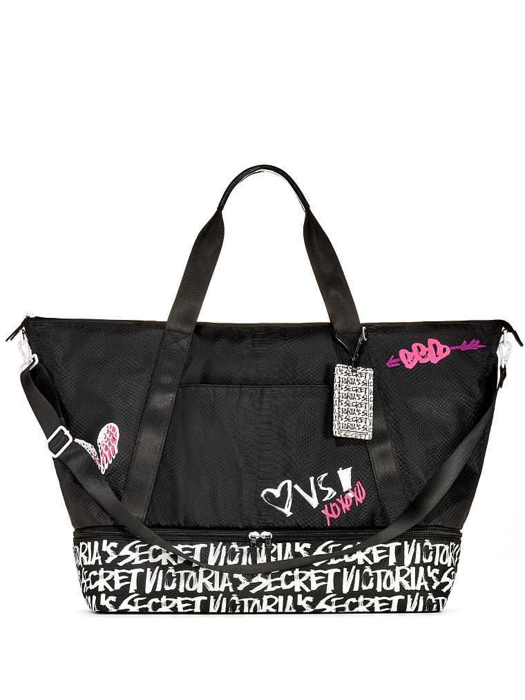00eeef53fb74 Victoria s Secret Graffiti Weekender
