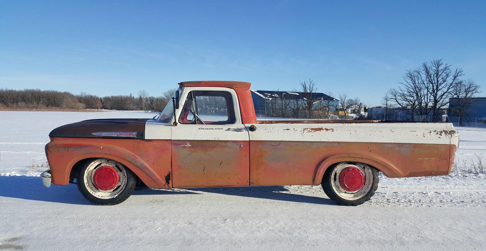 1962 ford f 250 mercury unibody