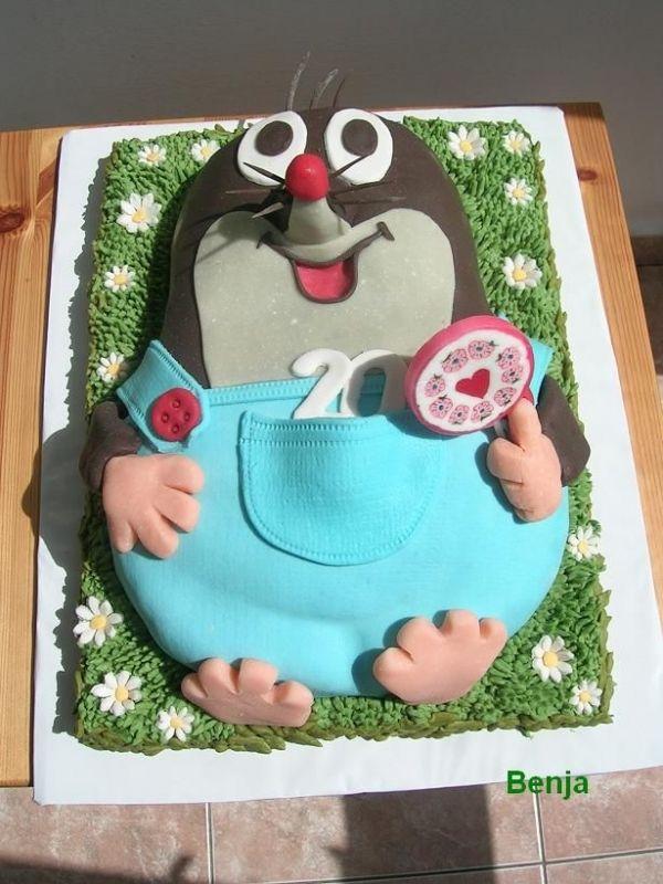Little Mole Birthday Cakes Motivtorte Tortendeko Torten Dekorieren