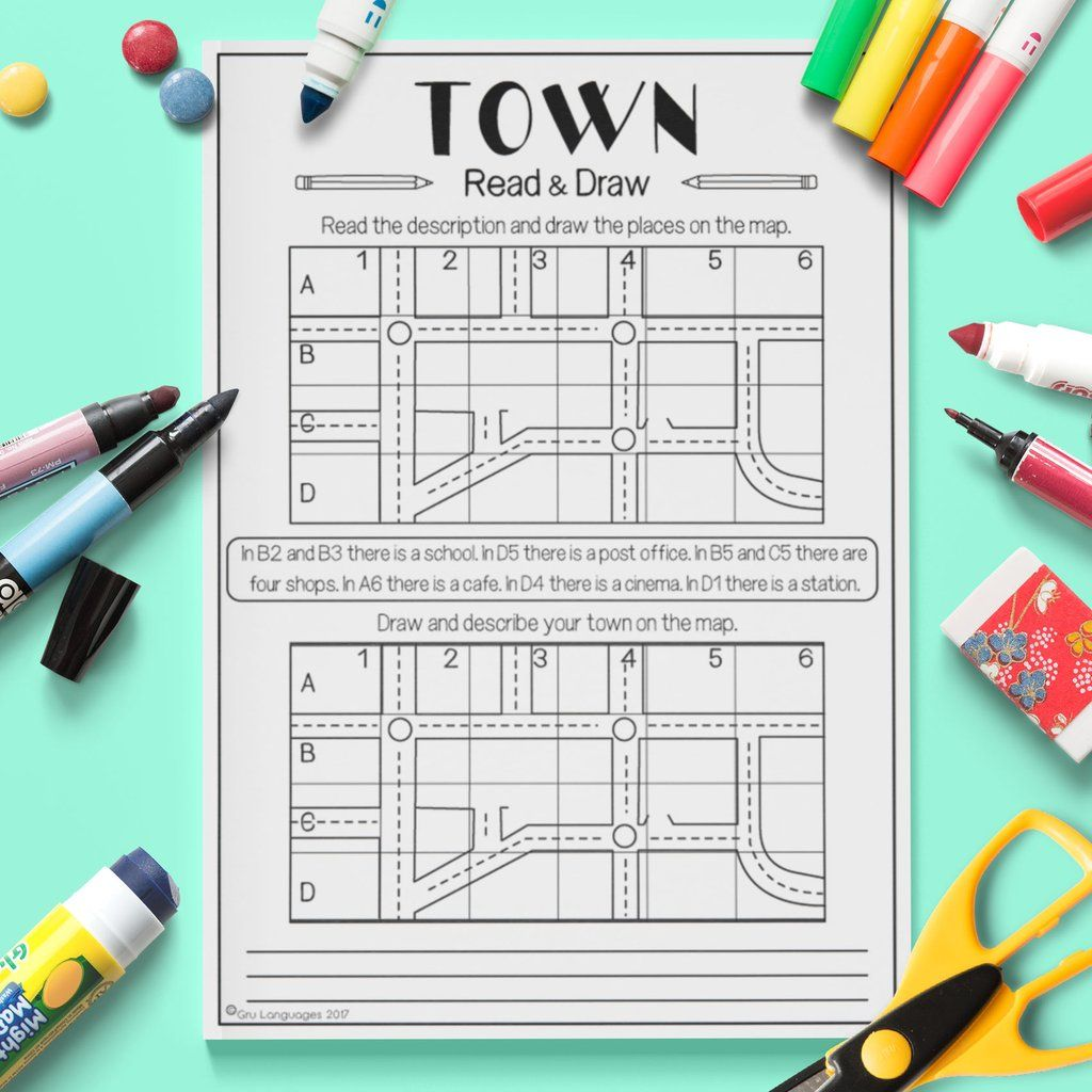 Town Read Amp Draw