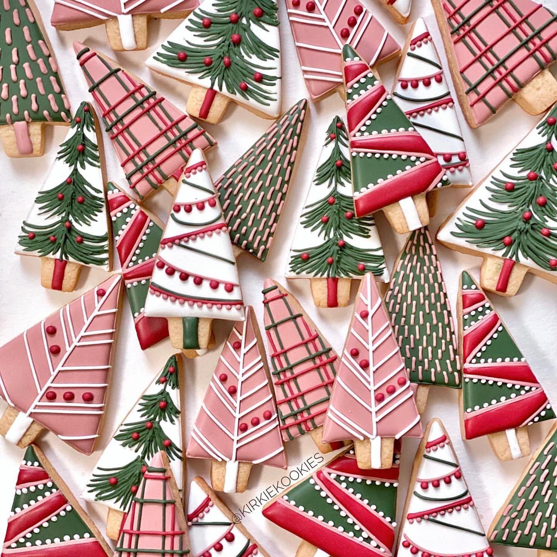 My little bakery - Christmas Tree cookies   Weihnachtsrezepte, Zuckerkeks, Merry christmas
