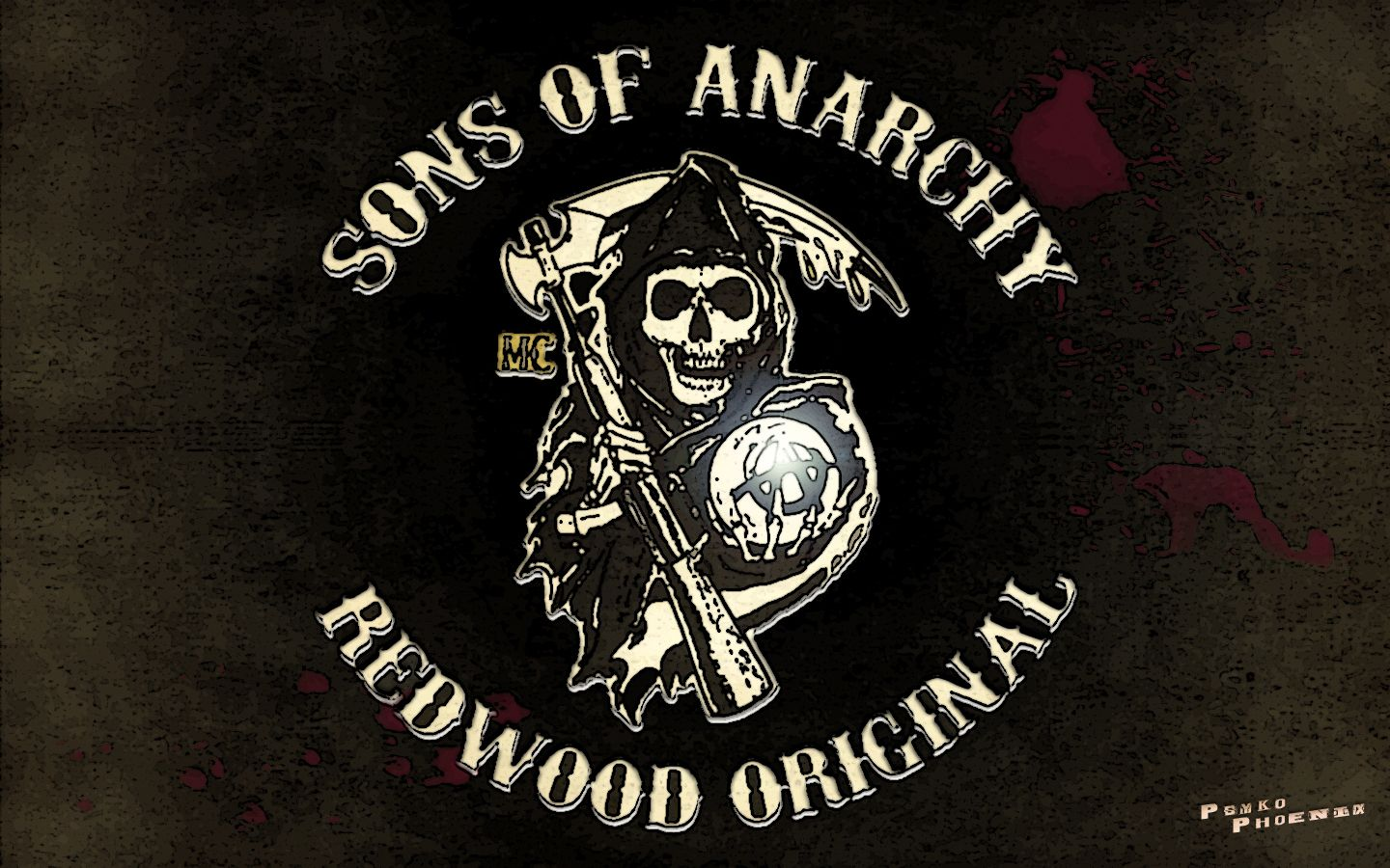 Sons Of Anarchy Logos Sons Of Anarchy Wallpaper Anarchy Sons