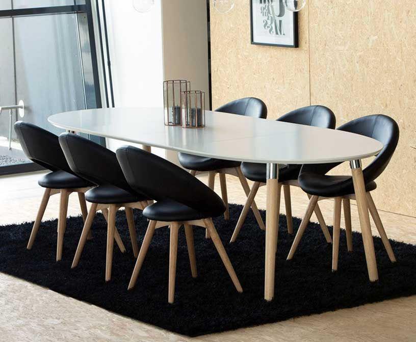 genial esstisch stühle schwarz | deutsche deko | pinterest | stuhl, Esstisch ideennn