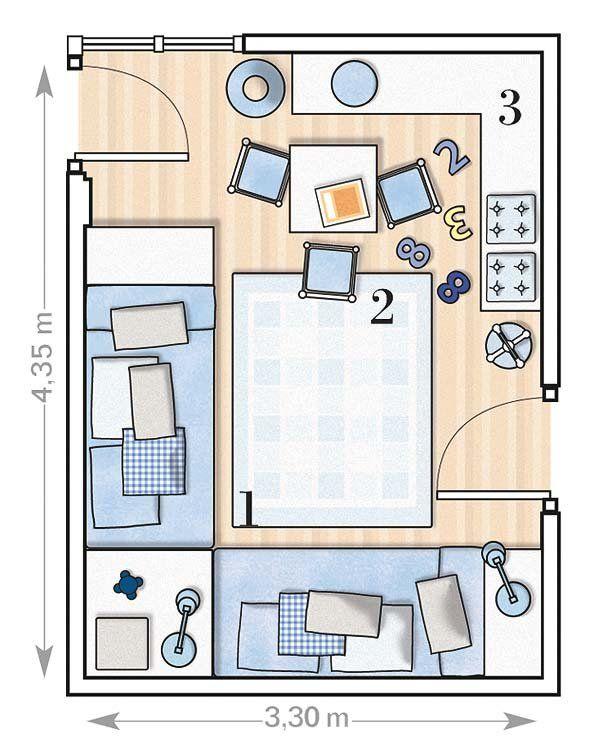 Best 25 camas dobles para ni os ideas on pinterest - Camas doble para ninos ...