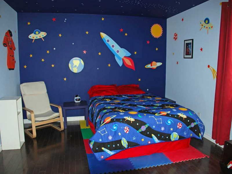 Children Bedroom Wall Painting Kid Paint Colors And Design Choosing